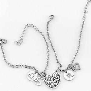 Two best friend horoscope bracelets